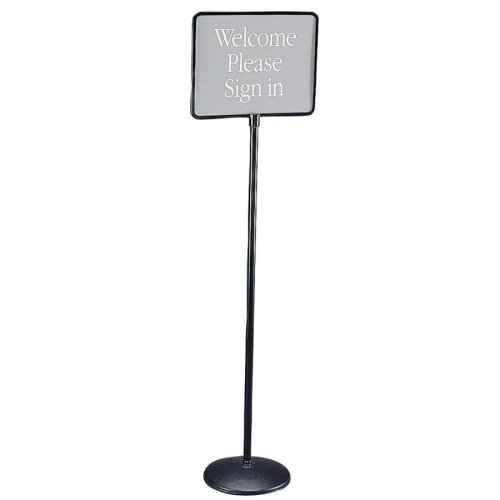 QRT3655 - Quartet Free Standing Pedestal Sign by Quartet - Freestanding Pedestal Sign