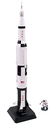 Saturn V Rocket Scale Model Kit (Kit, assembly required) ()