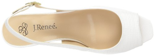 Renee R J Dress Sandal White Classie Women's 700nxZg
