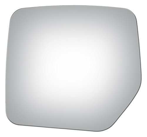 Burco 4161 Flat Driver Side Replacement Mirror Glass for Jeep Liberty, Patriot (2007, 2008, 2009, 2010, 2011, 2012, 2013, 2014, 2015, 2016, 2017)