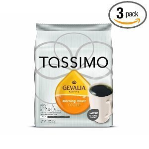 Gevalia Morning Roast, 14-Count T-Discs for Tassimo Brewers (Pack of 3) (Gevalia Roast Tassimo Morning)