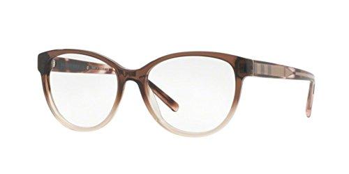 - Burberry Women's BE2229 Eyeglasses Brown Gradient Pink 52mm