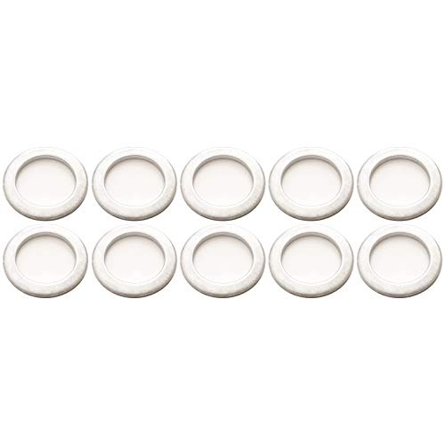 Prime Ave Rear Differential Fill Plug Aluminum Washers 20mm For Acura & Honda Part# 94109-20000 (Pack of 10) ()