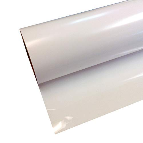Siser EasyWeed HTV 11.8'' x 20ft Roll - Iron On Heat Transfer Vinyl (White) by SISER
