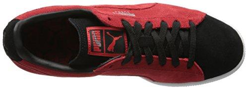 Puma Suede Classic + Herren Sneakers High Risk Red/Black