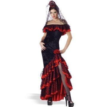 Senorita Adult Costume - (Costumes In Spanish)