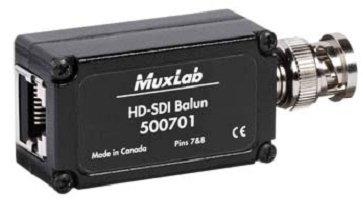 Muxlab 500701 Hd-Sdi Balun 500701 Hd-Sdi Balun 500701 Hd-Sdi Balun 500701 Hd-Sdi Balun 48.26In L X 4.45In W X 17.15In H by Muxlab