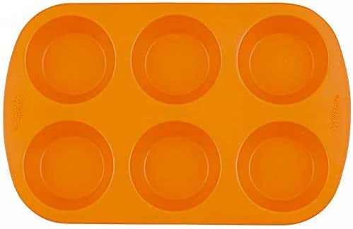 Wilton社製【50%OFF】ラウンド<6個>シリコンモールドdecora-shop お菓子道具の専門店【wl4832】定価1870円