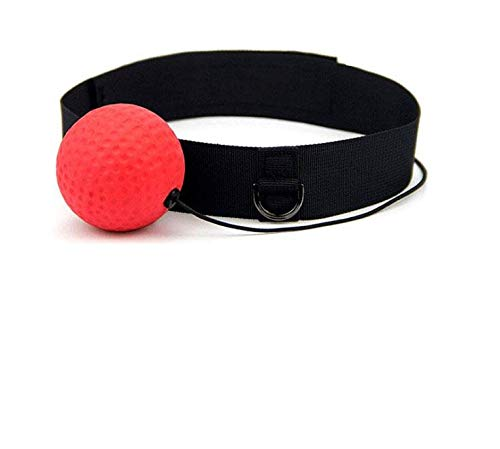 Boxing Reflex Speed Punch Ball Training Hand Eye Coordination with Headband Improve Reaction