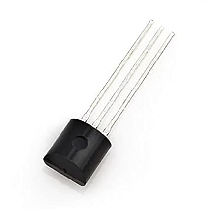 Tenflyer LM35DZ TO-92 LM35 precisión centÃgrados sensor de temperatura para IC baja impedancia: Amazon.es: Electrónica