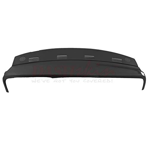 DashSkin Molded Dash Cover Compatible with 02-05 Dodge Ram in Black ()
