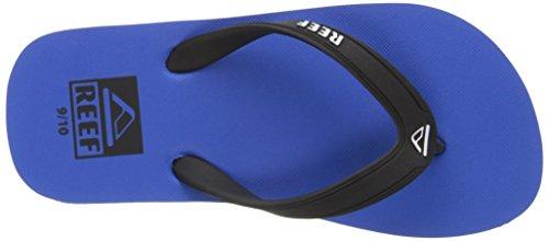Reef Grom Switchfoot, Sandalias Flip-Flop para Niños Negro (Blue)
