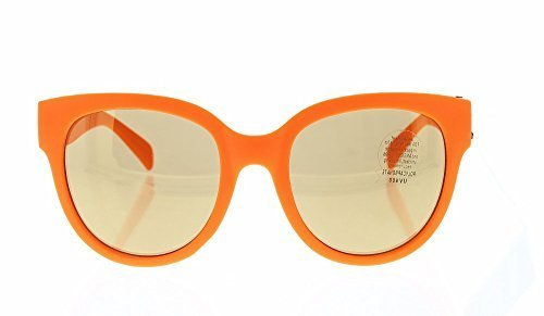 Women's Cat Eye Sunglasses Shades - 100% UV 400 Sun Protection - Impact Resistant Polycarbonate Lenses - Orange Frame - Tinted - Sun Glasses Customized