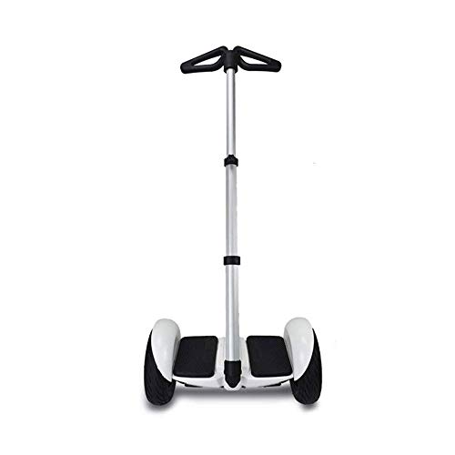 (Adjustable Handlebar Handle Stand Release Knee Pressure for Segway miniPRO Ninebot (Silver))