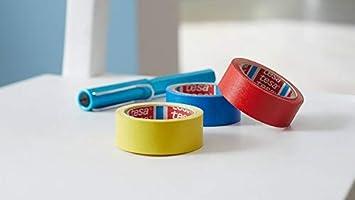 Bleu 50 m x 50 mm Tesa 04651-00518-00 Premium Adh/ésif toil/é