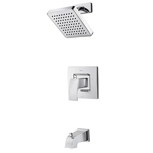 Pfister  G89-8DFC  Kenzo 1-Handle Tub and Shower Trim 2.0 gpm Polished Chrome