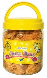 Pet Center Pet Center Chicken Breast Nibbles 16oz Cannister ()