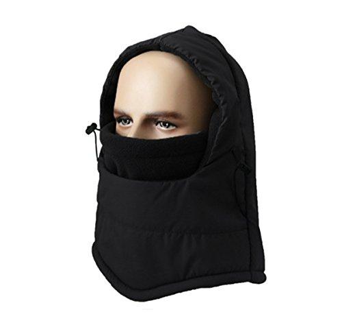 LoveHike Waterproof Balaclava Hood Hat Windproof Ski Face Mask for Men Women Children Warm Fleece Winter Hat (Fleece Waterproof Hat)