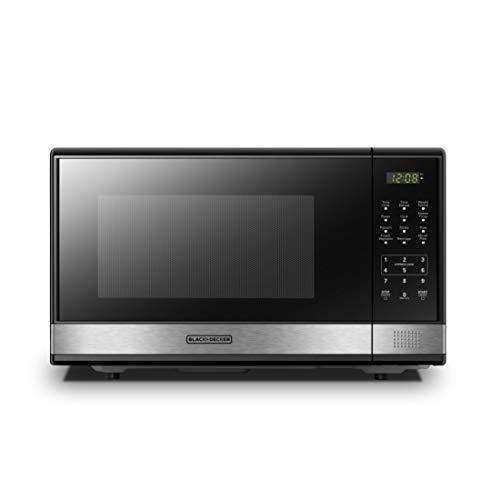 1100 watt microwave black - 7