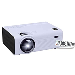 (Renewed) RCA RPJ136 Home Theater Projector – 1080P Compatible
