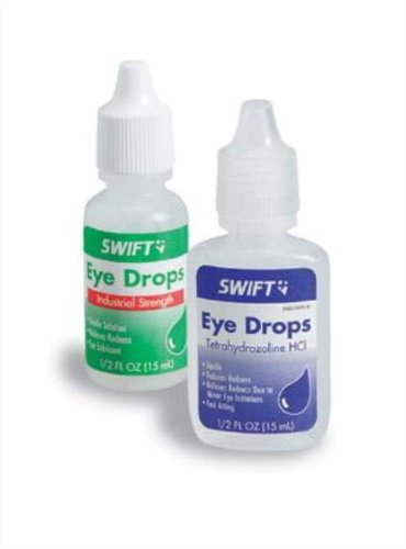 Swift First Aid 1/2 Ounce Bottle Industrial Eye Drops. Purch