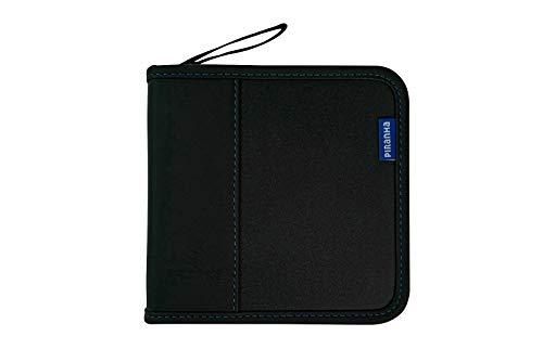 - Storage Wallet Case for Playstation 4 PS4 24 Game Holder (Blue 24 Discs)