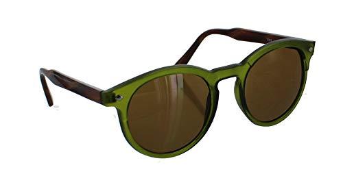 Dark Green Frame Fashion Sunglasses.
