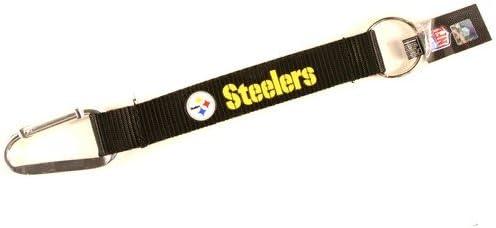 NFL Pittsburgh Steelers Carabiner Lanyard Keyring