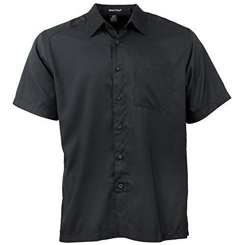 Rivers' End Mens Camp Shirt Casual Shirt Black XXL