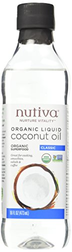 Nutiva Unrefined Sustainably Coconuts 16 ounce product image