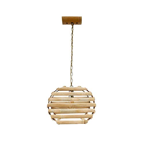 - ZSJ Individual Chandelier Creative Country Style Bamboo Knit Chandelier Lighting for Cafe Bar Restaurant Living Room Bamboo Lighting