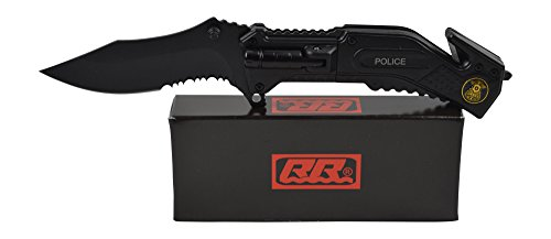 Rogue-River-Tactical-Best-Black-Multitool-Police-Rescue-Spring-Assisted-Pocket-knife-with-LED-Flashlight-Law-Enforcement