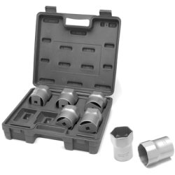 7pc 1/2 Dr Whl/Brg Lock Nut S Tools Equipment Hand ()