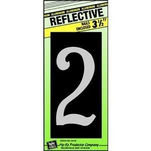 3-1/2'' Refl ALU Num 2 for doors and Cupboards