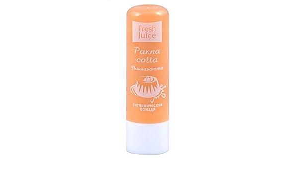 Fresh juice Lip Balm Panna Cotta labios reparación energía frescos zumos + Vitaminas A & E: Amazon.es: Belleza