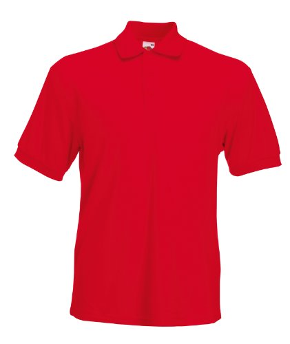 Fruit of the Loom Filmstars Original-Polo Rot M