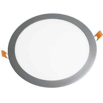 Alverlamp DL30PL60AL - Downlight led empotrar smd redondo 30w 6000k aluminio: Amazon.es: Bricolaje y herramientas