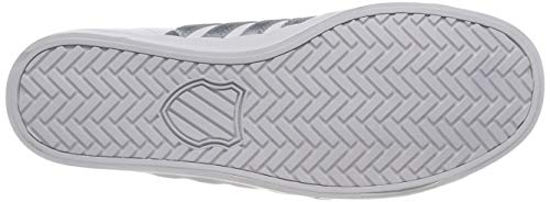 K Low So White Swiss Women's Belmont Gray Mist Top Sneakers 129 White Ix6rpI