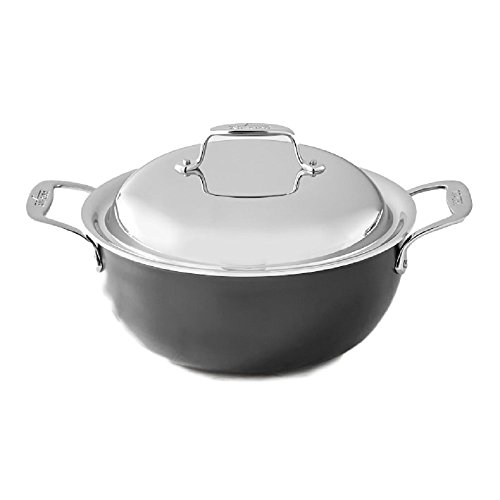 All Clad LTD 5.5 Quart Dutch Oven with Lid