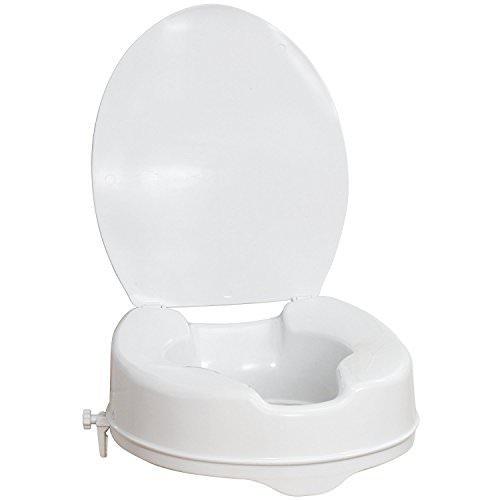 Vaunn Medical Clamp-on Raised Toilet Seat
