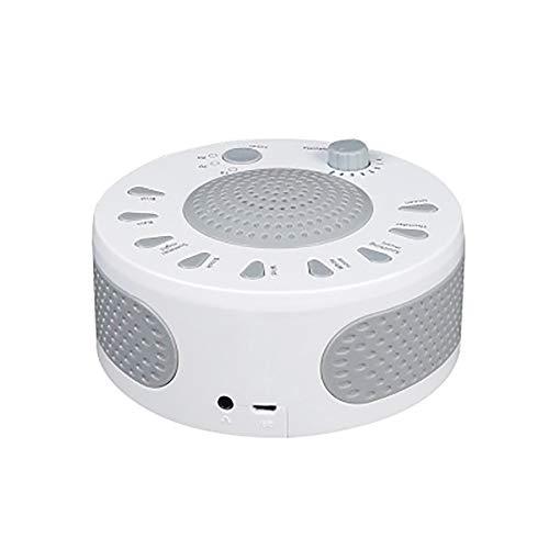 DFCHT White Noise Sleep Instrument, Portable Sound Machine Decompression Sleep Aid Improve Insomnia Noise Sleep Instrument Natural Sound Sleep Monitor