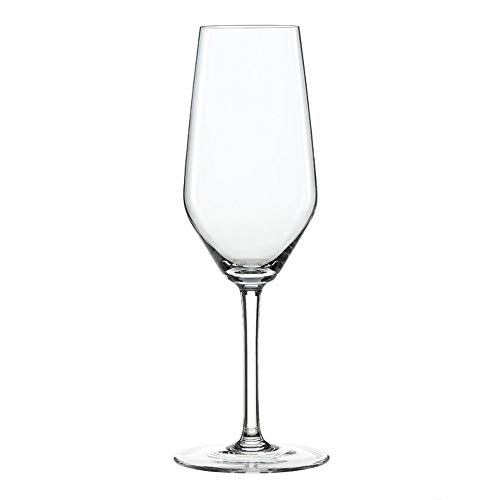 Spiegelau 4670187 Style Sparkling Wine Glasses (Set of 4), Clear ()