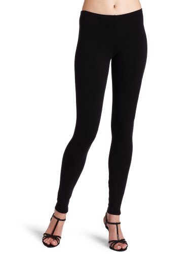 Splendid Women's French Terry Legging, Black, Large