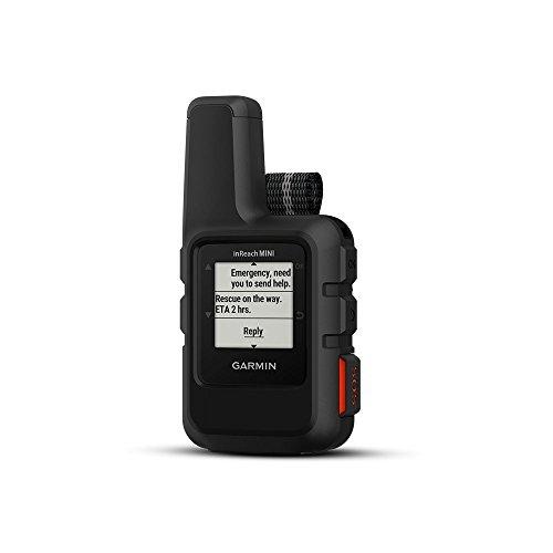 Garmin inReach Mini, comunicador satelital portátil ligero y compacto, negro
