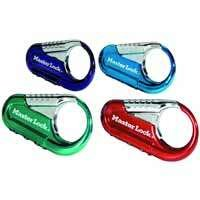 Master Lock 1548DCM Backpack Lock Assorted Colors by Master Lock