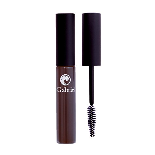 Gabriel Cosmetics, Vegan, Mascara, Black/Brown, .35 Ounce