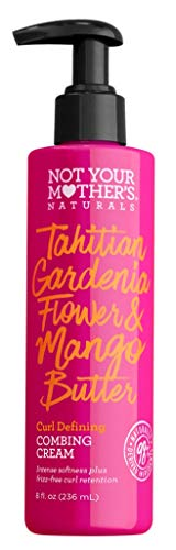 Not Your Mothers Naturals Combing Cream Mango Butter, 8 Ounce