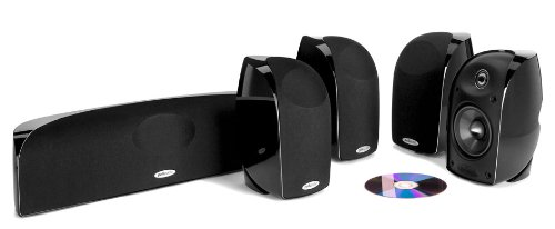 Polk Audio Blackstone 5.0-Channel Home Theater Speaker System Black TL350 5-PACK