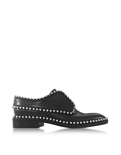 Alexander Wang Women's 3027O0010L001 Black Leather Lace-up Shoes clearance get authentic free shipping best seller shopping online buy cheap under $60 how much online Fa3hWqLBF