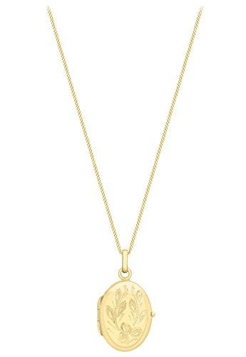 Carissima Gold - Collier avec pendentif - Or jaune 9 cts - 41 cm - 1.43.7603